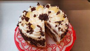 Birne-Helene-Torte - Stück 2,70 €