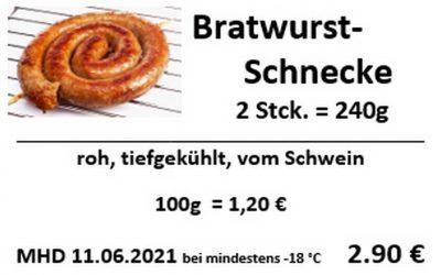 Bratwurstschnecke