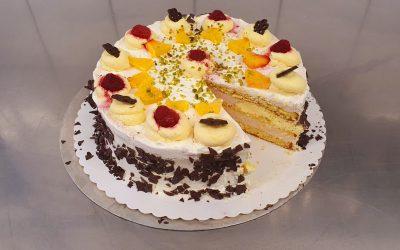 Himbeer-Limonen-Likör-Torte