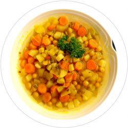 Möhreneintopf vegetarisch