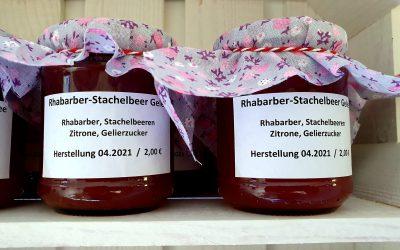 Rhabarber-Stachelbeer Gelee