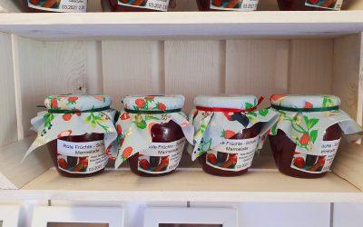 Rote Früchte-Schoko Marmelade