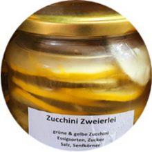 Zucchini Zweierlei